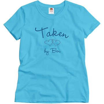 Taken Misses Relaxed Fit Basic Gildan Heavy Cotton Tee