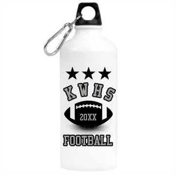Football Stars Bottle Aluminum Water Bottle