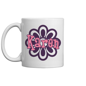 Karen's Coffee Mug 11oz Ceramic Coffee Mug