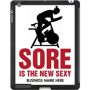 Sore New Sexy Gym iPad Black iPad Smart Cover