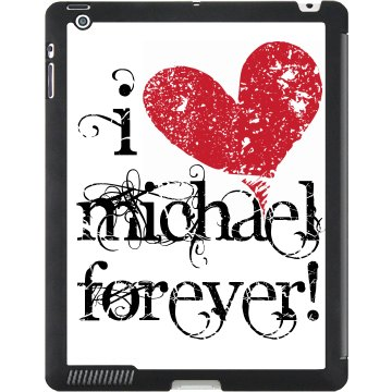 I Love Michael Black iPad Smart Cover