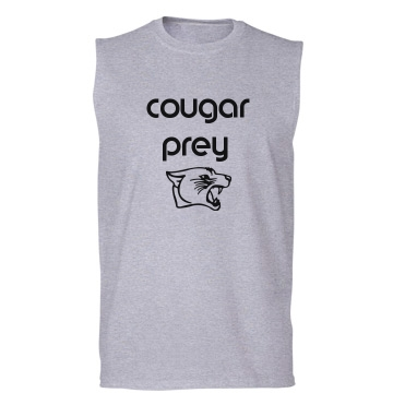 Cougar Prey Unisex Gildan Ultra Cotton Sleeveless Tee