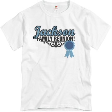 Blue Ribbon Reunion Unisex Basic Gildan Heavy Cotton Crew Neck Tee