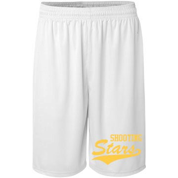 Shooting Stars Basketball Badger Sport B-Core Youth 6 Inch Short