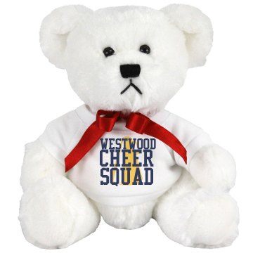 High School Cheer Squad Medium Plush Teddy Bear