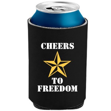 Miltary Veteran Salute The Official KOOZIE Can Kooler