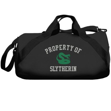 Property of Slytherin Augusta Sport Roll Bag