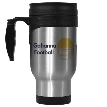 Gahanna Football 14oz Stainless Steel Travel Mug