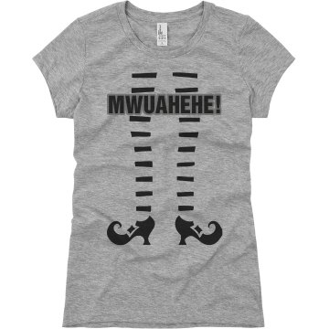 MWUAHEHE Junior Fit Basic Bella Favorite Tee