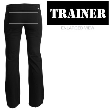 Trainer Pants Junior Fit Soffe Yoga Pants