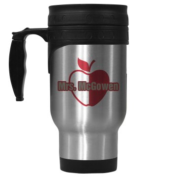 Mrs. McGowen Teacher Mug 14oz Stainless Steel Travel Mug