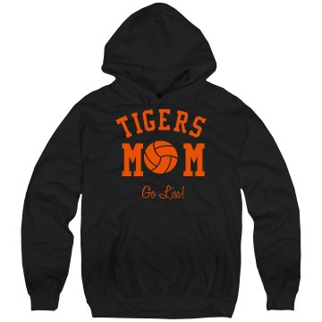 Volleyball Mom Hoodie Unisex Gildan Heavy Blend Hoodie