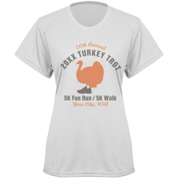 Thanksgiving Trot Tee Paragon Women&#x27;s Performance Tee