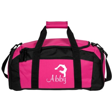 Abby Cheerleading Bag Port & Company Large Square Duffel Bag