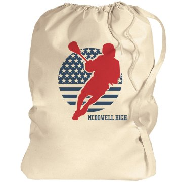 High School Lacrosse Port Authority Laundry Bag