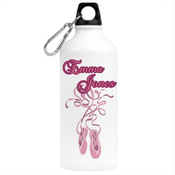 Dance Shoe Water Bottle Aluminum Water Bottle
