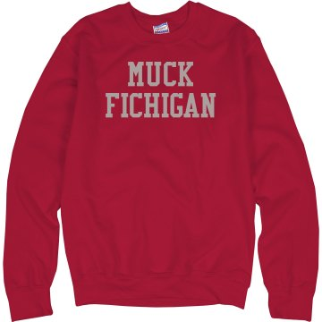 Muck Fichigan Junior Fit Bella Long Sleeve Crewneck Jersey Tee