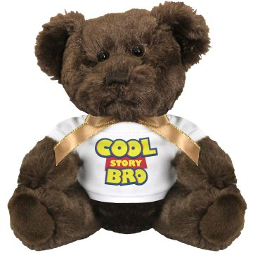 Cool Story Bro Bear Medium Plush Teddy Bear