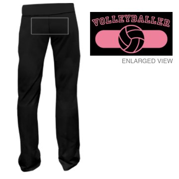 Volleyballer Sweats Junior Fit Bella Fitness Pants