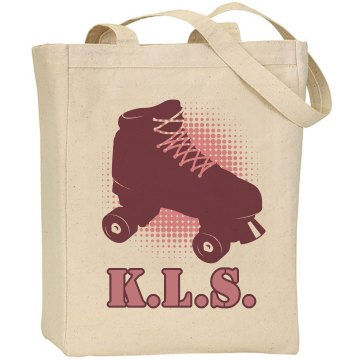 Roller Derby Tote Liberty Bags Canvas Tote