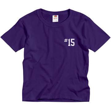 Lady Tigers w/ Back Youth Gildan Ultra Cotton Crew Neck Tee
