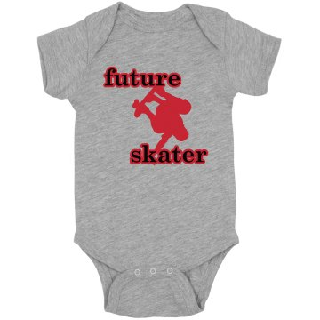 Future Skater Baby Infant Rabbit Skins Lap Shoulder Creeper