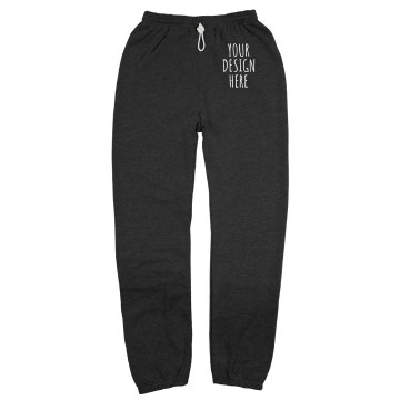 Your Design Here Unisex Gildan Heavy Blend Sweatpants