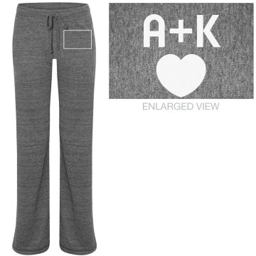 A+K Junior Fit Bella Straight Leg Fleece Sweatpant