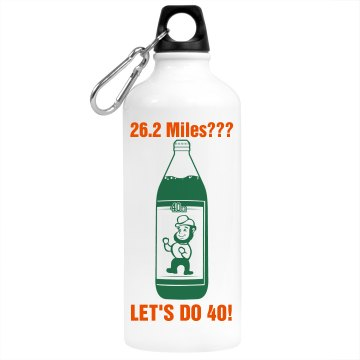 St. Patrick Water Bottle Aluminum Water Bottle