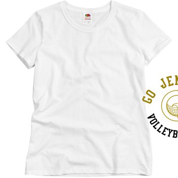 Go [Insert Name Here] Misses Relaxed Fit Basic Gildan Ultra Cotton Tee