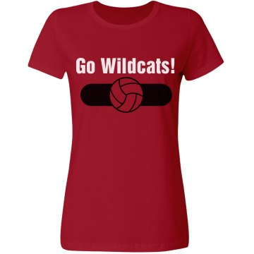 Go Wildats Misses Relaxed Fit Gildan Ultra Cotton Tee