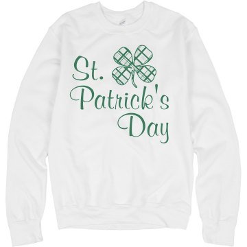 St. Patricks Day Hoodie Unisex Hanes Ultimate Cotton Heavyweight Hoodie