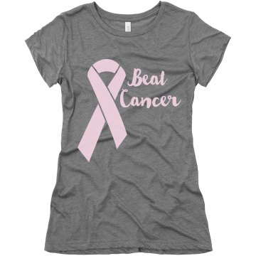 Think Pink Junior Fit Basic Bella Favorite Tee