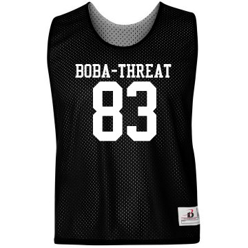 Boba Threat LAX Pinnie Badger Sport Lacrosse Reversible Practice Pinnie