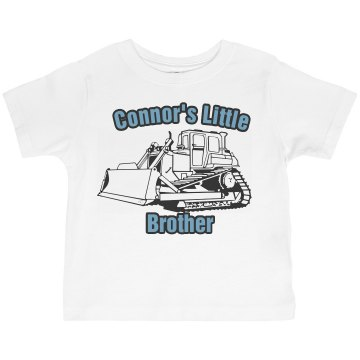 Connor&#x27;s Little Brother Toddler American Apparel 3&#x2F;4 Sleeve Baseball Tee