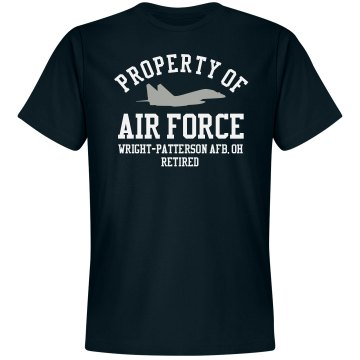 Retired from Air Force Unisex Gildan SoftStyle Tee