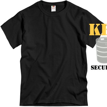 Keg Security Unisex Gildan Heavy Cotton Crew Neck Tee