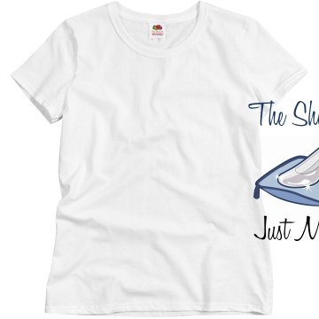 The Shoe Fit Just Married Misses Relaxed Fit Basic Gildan Heavy Cotton Tee