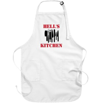 Hell's Kitchen Port Authority Adjustable Full Length Apron