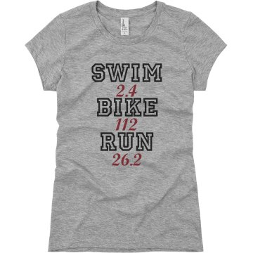 Triathlon Specs. Junior Fit Basic Bella Favorite Tee