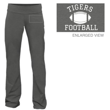 Football Number Pants Junior Fit Bella Fitness Pants