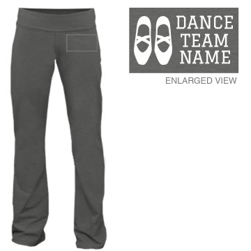 Dance Team Sweatpants Junior Fit Bella Fitness Pants