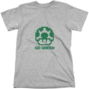 Go Green Unisex Anvil Organic Tee
