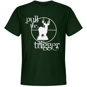Pull The Trigger Unisex Gildan Heavy Cotton Crew Neck Tee