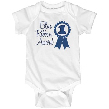Blue Ribbon Award Infant Rabbit Skins Lap Shoulder Creeper