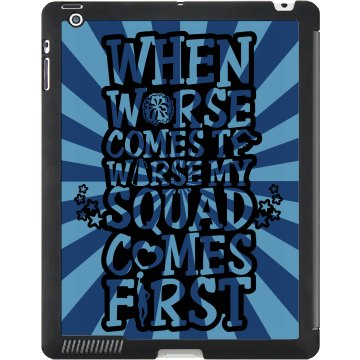 Cheer Squad Pride Case Black iPad Smart Cover