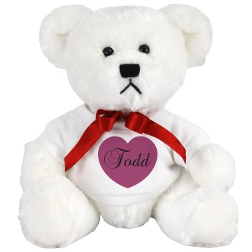 Todd's Teddy Bear Medium Plush Teddy Bear