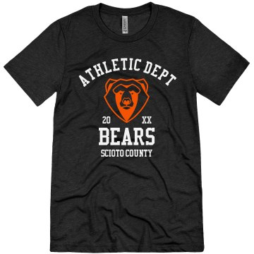 Bears Sports Department Unisex Gildan SoftStyle Tee