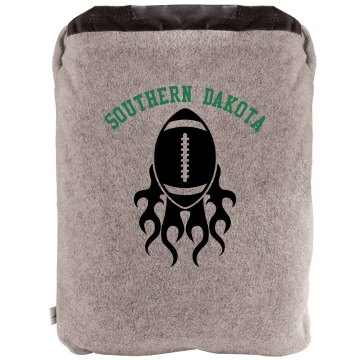 Southern High Football 2-in-1 Poly Fleece Pillow Blanket