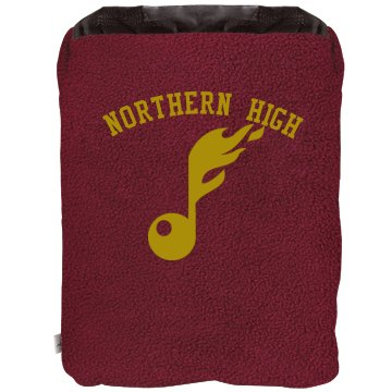 Marching Band Blanket 2-in-1 Poly Fleece Pillow Blanket